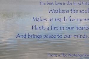 best love notebook